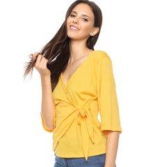 blusa amarilla fülle rios