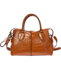 borsa donna a mano shopping in pelle d-styling