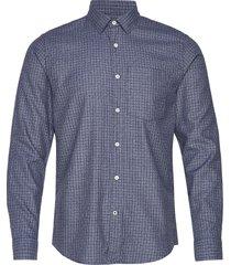falko 5039 overhemd business blauw nn07