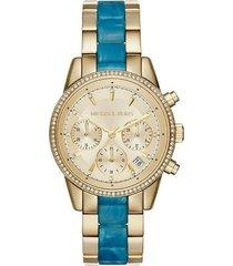 relógio feminino michael kors mk6328/5dn