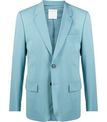 sandro paris formal summer suit set - blue
