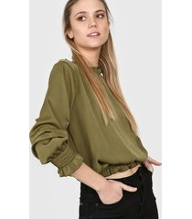 blusa verde nano gala 0520