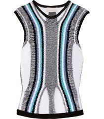 peter pilotto sleeveless sweaters