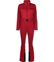 perfect moment gstaad padded jumpsuit - red