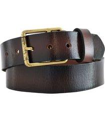 cinturón marrón briganti acc08302