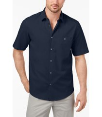 alfani men's stretch modern pocket shirt, created for macy's