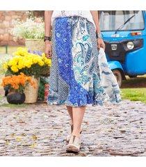 jolene paisley skirt