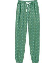 pantaloni per pigiama (verde) - bpc bonprix collection