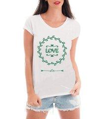 blusa criativa urbana t-shirt love