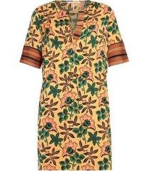 zijdezachte dames jurk met prinsmix maison scotch - 149839