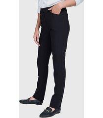 pantalón ash de vestir negro - calce ajustado
