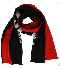 alexander mcqueen graffiti scarf