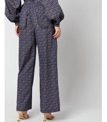 résumé women's cody pants - navy - dk 42/uk 12