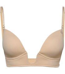 amelia new push lingerie bras & tops padded bras beige abecita