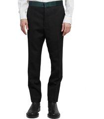 haider ackermann black trousers