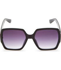 gafas marco cuadro color negro, talla uni