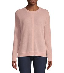 cashmere cable knit sweater