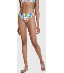 parte inferior bikini desigual bottom multicolor