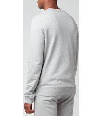 a.p.c. men's item sweatshirt - heather grey - xl