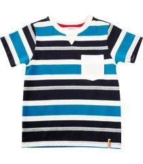 camiseta felipe azul oscuro