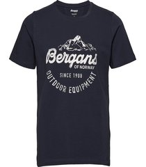 classic tee t-shirts short-sleeved blå bergans