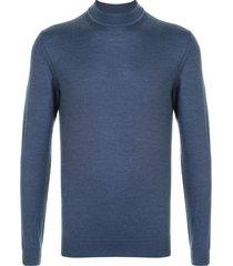 cerruti 1881 slim fit sweatshirt - blue