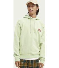 scotch & soda unisex raglan sleeved hoodie