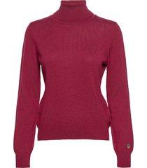 alice rollerneck sweater turtleneck coltrui rood busnel