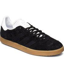gazelle låga sneakers svart adidas originals