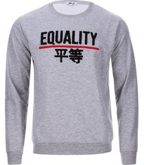 buzo equality color gris, talla s
