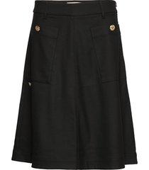 alice twiggy skirt knälång kjol svart mos mosh