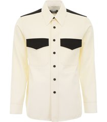 calvin klein shirt with pockets
