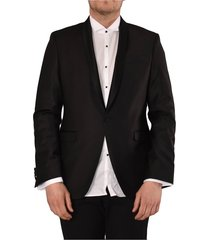 1 button smoking jacket