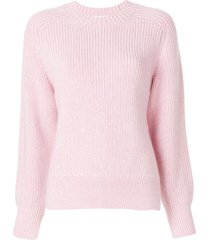 3.1 phillip lim saddie sweater - pink