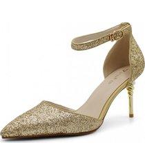 zapato de fiesta ibiza oro toffy co.