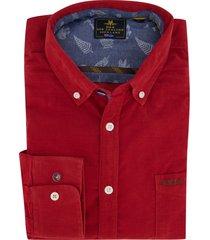 new zealand overhemd rood waitahora