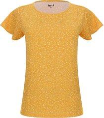 camiseta lluvia floral