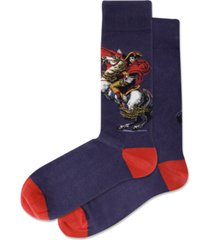 hot sox men's napoleon crew socks
