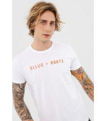camiseta ellus board branca