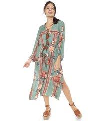 kimono dress to floribela verde