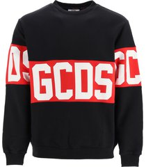 gcds sweatshirt with logo band