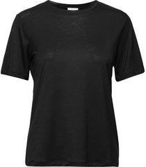amatta t-shirts & tops short-sleeved svart by malene birger