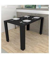 mesa de jantar preto lilies móveis