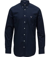 reg broadcloth bd overhemd business blauw gant