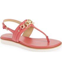 women's michael michael kors roxane sandal, size 8.5 m - pink