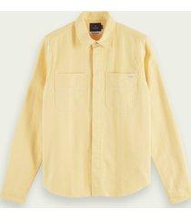 scotch & soda mid-weight flannel shirt