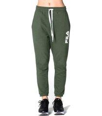 pantalón verde fila jooger loop