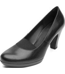 zapato cuero mitzy liso flexi