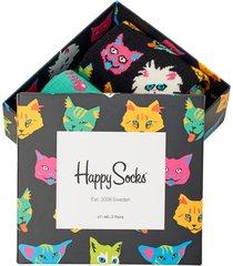 2-pack strumpor cat gift box