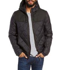 men's nobis packable quilted down jacket, size x-large - black